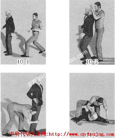 少林擒拿术十大技法——锁技