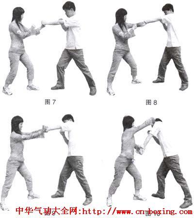 螳螂拳防身自卫6招