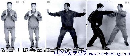 孙式太极拳单鞭式的练与用
