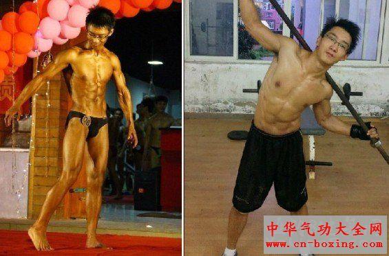 男士健身方法——(附3张照片)我是这么练的