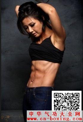 11字腹肌锻炼方法,盘点韩国女明星11字腹肌图片