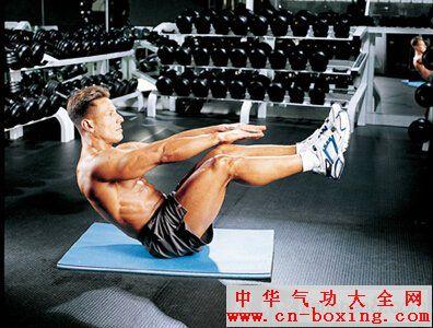 腹肌锻炼方法—v字挺身技术详解教程