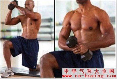 伐木动作是有效锻炼腹内外斜肌